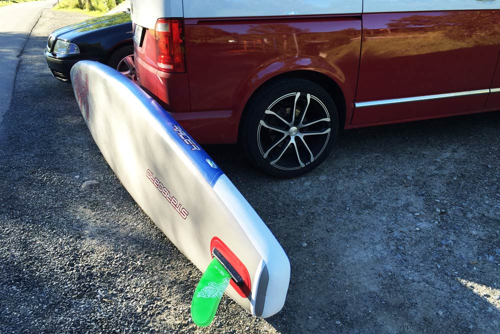 Astro Racer Starboard Sup Mit Race Finne