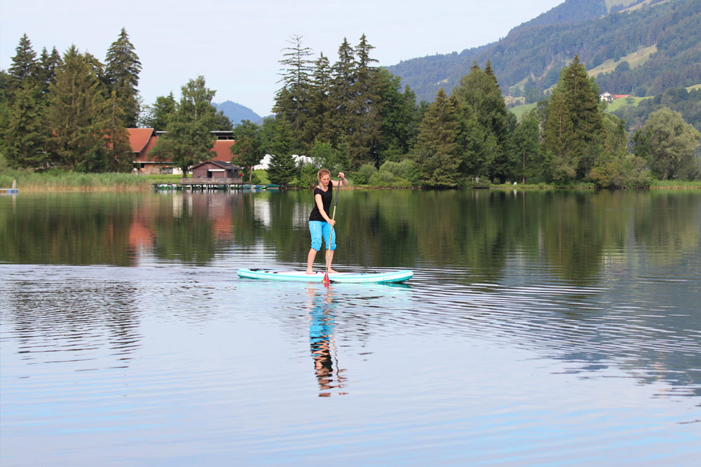 Sup Tour Mit Fanatic Diamond Touring
